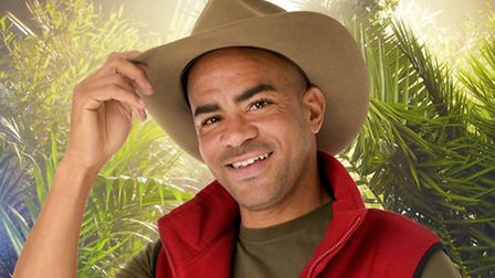 Kieron Dyer on I'm A Celebrity ... Get Me Out Of Here! 2015. Photo: ITV/PA Wire