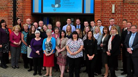 Members of the team at Suffolk Chamber of Commerce, which has become an approved mentoring organisat
