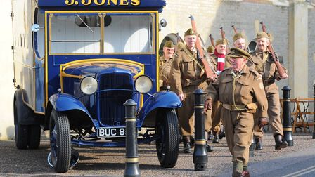 The patrol of the Dad's Army Museum will be at Garboldisham on Norfolk Day 2019. Picture: Steve Adam