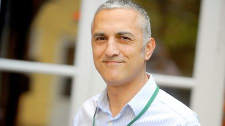 Healthwatch Suffolk's chief executive Andy Yacoub.