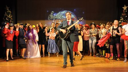 Grand finale featuring Headmaster Nicholas Weaver and the cast