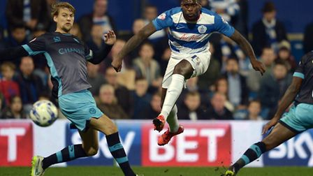 Jay Emmanuel-Thomas, in action for QPR
