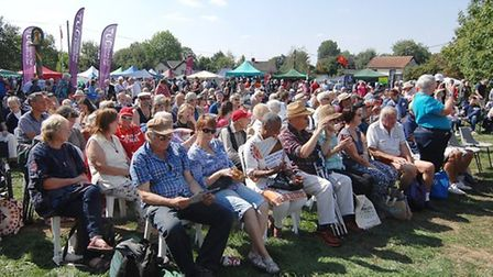 Crowds at Burston Stirke Rally in 2018. This year's event will be a three-day festival. Picture: Chr