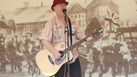 The Burston Stirke Rally includes live music as well as speeches. Picture: Chris Bishop