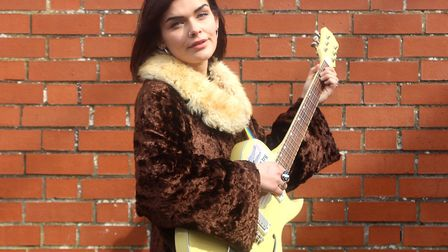 Eye singer-songwriter Bessie Turner who will be performing at Ed Sheeran homecoming gigs at Chantry