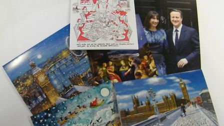 Christmas cards from politicians