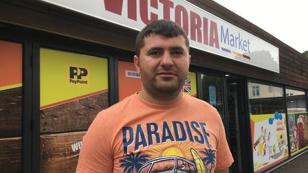 Andrei Vilvelevici who has opened Victoria Market in Diss. Picture: Simon Parkin