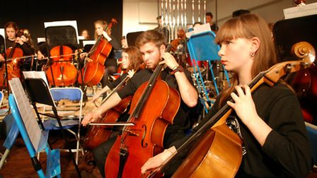 Farlingaye music pupils perform at the school's Christmas concert