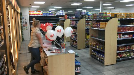 The newly opened Victoria Market includes an off licence with plans to start selling newspapers and