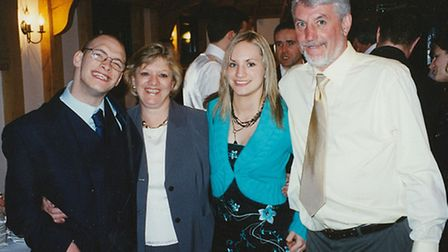 The close-knit Smith family in 2006: Matt, Wendy, Nikki and Barry
