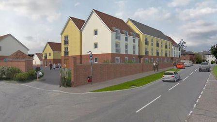 Plans have been submitted for 46 retirement homes on the site of a former Apollo social club in Harl