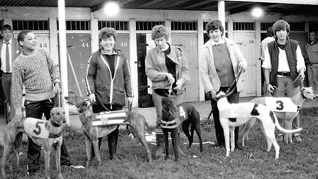 Do you recognise any of these members of the kennels staff at the greyhound track in June 1987?