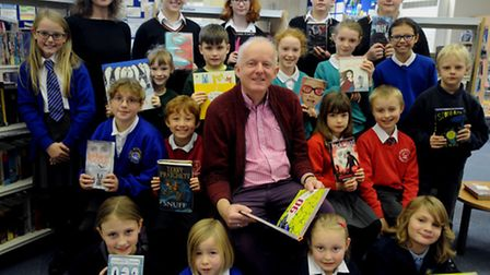 Children from a group of schools in Bury St Edmunds are being urged to step up their reading activit