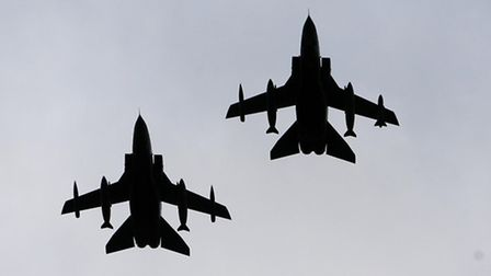 RAF Marham Tornado GR4 jets have taken part in bombing missions over Iraq and David Cameron wants to