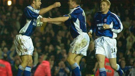 Marcus Stewart scored a hat trick at Southampton in 2000