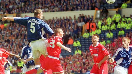 Ipswich won promotion in front of the Sky cameras in 2000