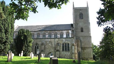 St Mary's Church at Redgrave. Picture: Evelyn Simak
