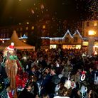 A parade of puppets, live bands, fireworks and a packed Angel Hill, Abbey Gardens and town centre -