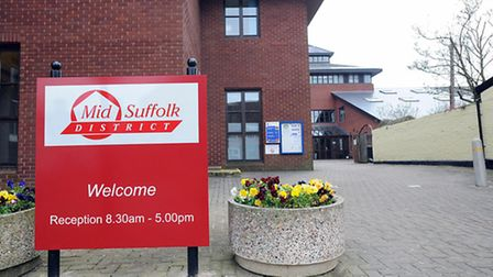 Mid Suffolk District Council offices in Needham Market.