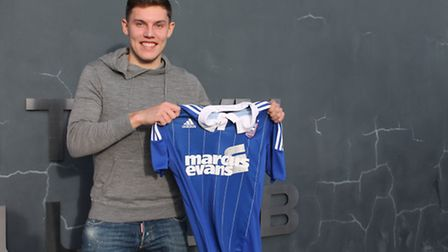 New Ipswich Town signing Paul Digby