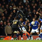Danny Haynes has a last-ditch shot to try and save Ipswich Town from a 1-0 defeat to Portsmouth in 2