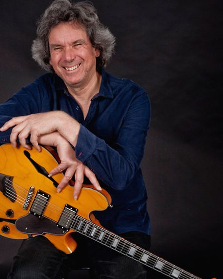John Etheridge, another of the acts helping launch the Colchester Arts Centre Jazz Club