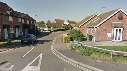 Pursehouse Way in Diss where 11 cars were damaged in a spate of vandalsim. Picture: Google