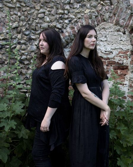 Laura Cannell and Polly Wright whose sound installation is at Waveney Valley Sculpture Trail. Pictur