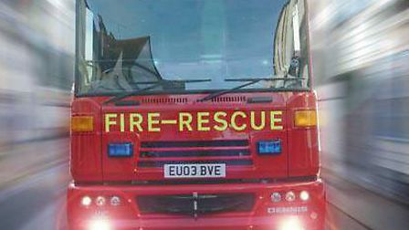Firefighters tackled a small blaze at an address in Lavenham