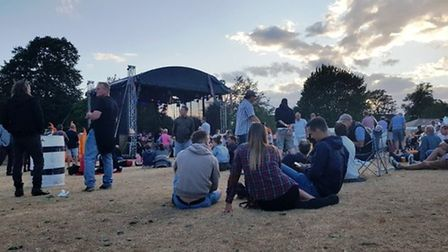 Crowds at Gig in the Park in Diss in 2018. Picture: Marc Betts