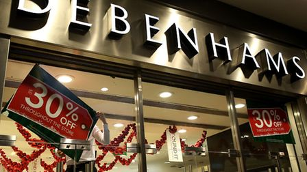 Debenhams has shrugged off the unusually mild winter weather to post a rise in sales thanks to bumpe