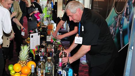 The 2013 ISSBA Suffolk Business Exhibition held at Trinity Park Ipswich