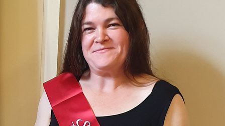 Harleston slimmer Gemma Murton who has shed nearly five stone. Picture: Slimming World