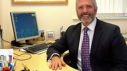 Dr Mark Shenton , GP and Chairman of the Ipswich and East Suffolk CCG, has praised the success of th