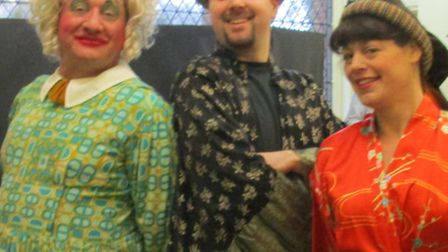 Puzzle House Pantomimes stage Aladdin