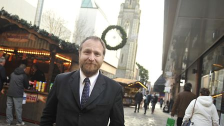 Peter Scopes, centre manger for Red Lion Yard and Lion Walk.