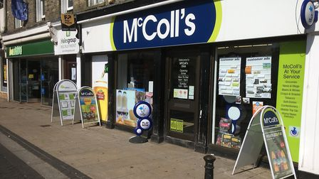 McColls on Mere Street in Diss will shut in November, next to Beactive Mobility that has already clo