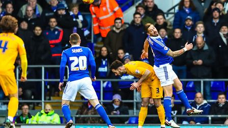 Luke Chambers and Freddie Sears are back in the Ipswich Town side for today's game with Birmingham.