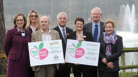 The Eat Out, Eat Well awards at Center Parcs in Elveden.