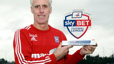 Mick McCarthy won the manager of the month award for November, but missed out to Aitor Karanka in D