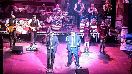 Chicago Blues Brothers show will be at the Apex in January.