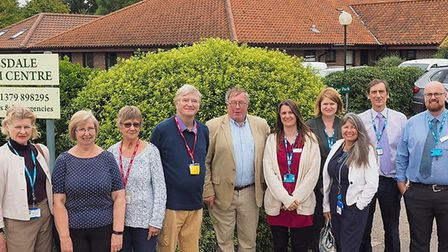 The new expansion at Botesdale Health Centre has been opened. Picture: Mid Suffolk Council