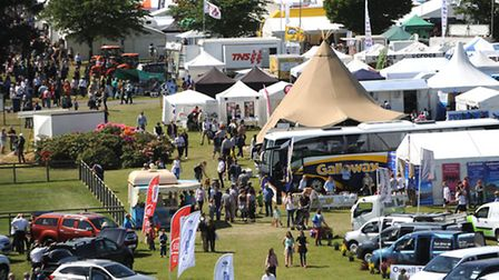 When is the Suffolk Show 2016?