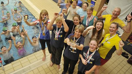 Stradbroke swimming pool and fitness centre users have had a successful year winning many accolades.