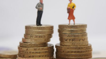 """The Equality and Human Rights Commission (EHRC) warned that the UK's gender pay gap remains """"stubbor"""