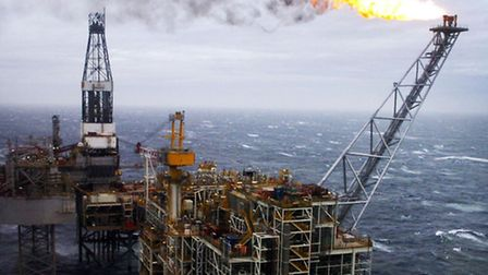 File photo dated 16/03/07 of an oil rig in the North Sea as confidence levels among oil and gas cont