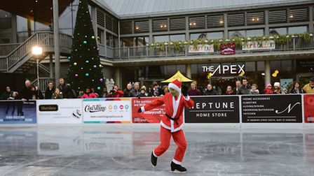 The Ice Rink in the Arc shopping centre in Bury.