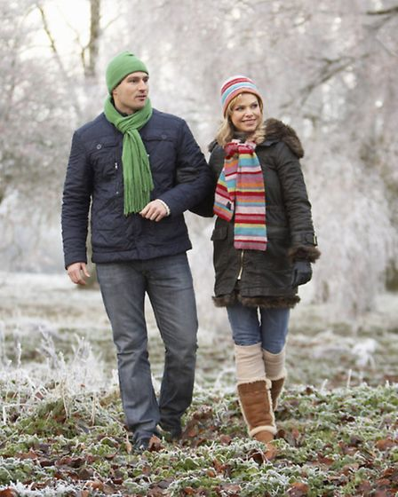 A Generic Photo of a couple walking in winter. See PA Feature HEALTH Walking. PA Photo/Thinkstockpho
