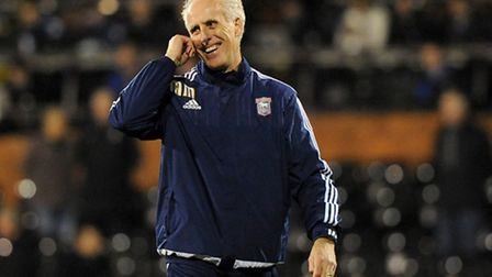 A happy Mick McCarthy at Fulham