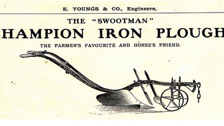 """Mane in Diss the Champion Iron Plough, better known as """"The Swootman"""", became world famous with a re"""